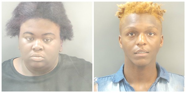 Jana Stowers, left, and Curtis Alford. - COURTESY OF SLMPD