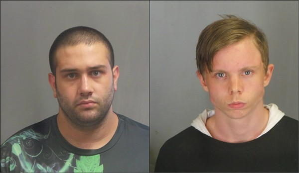 Casey Duncan, right, and Jesse Killian. - JEFFERSON COUNTY SHERIFF'S OFFICE
