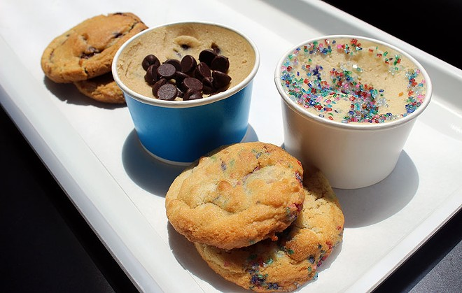 The chocolate chip and sugar cookie are two of the classic flavors that 'ZZA carries. - LEXIE MILLER