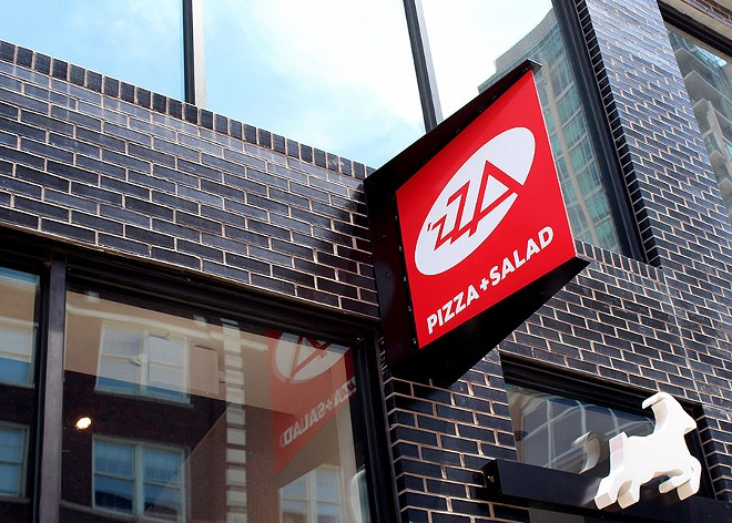 'ZZA recently opened its second location in the Euclid Building, which also includes Shack  Shack. - LEXIE MILLER