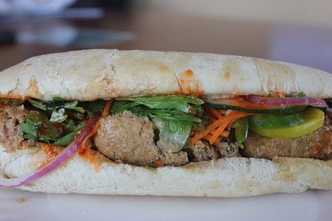 Good Buddy's Bahn Mi So Tasty. - SARAH FENSKE