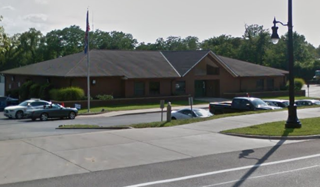 Normandy city employees were held hostage in the clerk's office, police say. - GOOGLE STREET VIEW