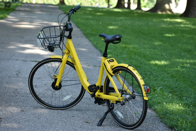 Ofo is reportedly planning to leave St. Louis. - DOYLE MURPHY
