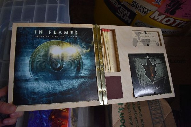 An In Flames special edition that come with matches, naturally. - DANIEL HILL