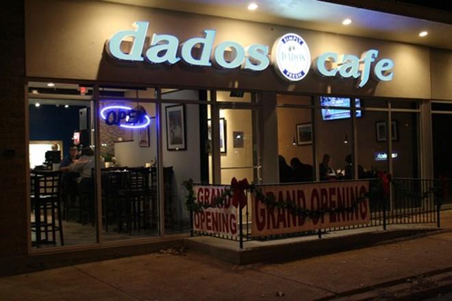 Dados Cafe opened in 2015. - JOHNNY FUGITT