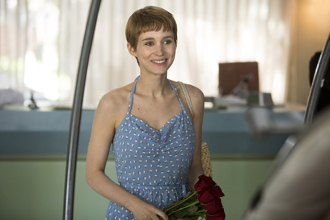 Rooney Mara plays John Callahan's girlfriend, Annu. - SCOTT PATRICK GREEN, COURTESY OF AMAZON STUDIOS