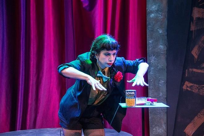 Tanya Solomon brings a feminine energy to the world of magic. - (C) JOHN HUNTINGTON