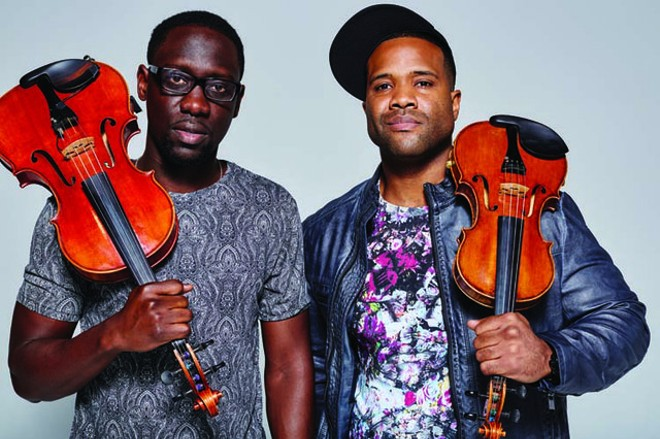 Black Violin will perform at the Blanche M Touhill Performing Arts Center on Friday, October 5. - COLIN BRENNAN