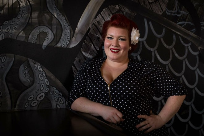 Chloe Yates is the Pin-Up Chef. - MONICA MILEUR