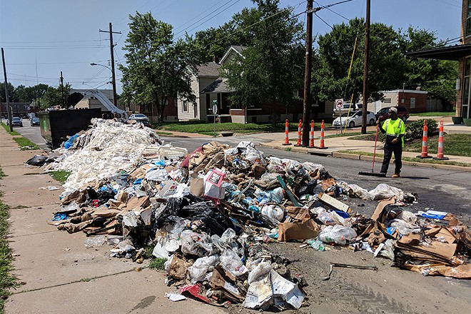 That's a lot of trash load. - DANNY WICENTOWSKI