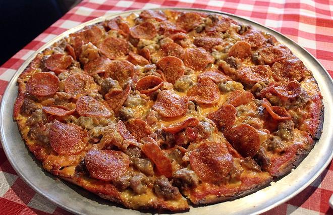 The award-winning Don Vito pizza. - LEXIE MILLER