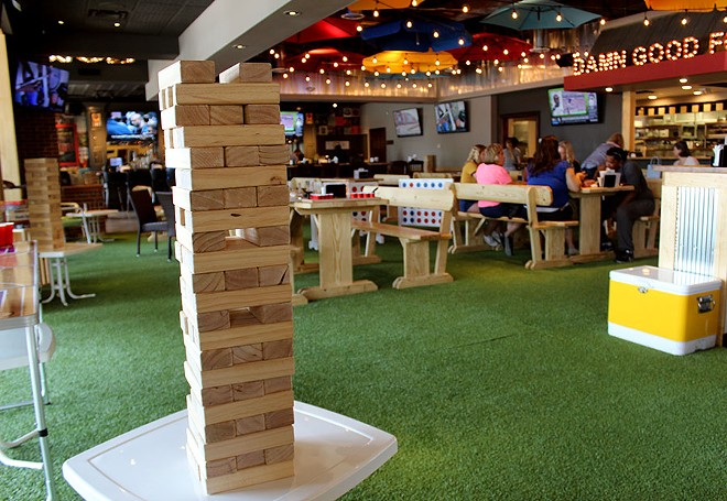 Really big Jenga? TBD Bar and Social has it. Connnect 4? It's got that too. - LEXIE MILLER