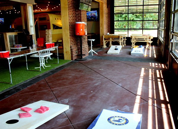 What could be better than cornhole? - LEXIE MILLER