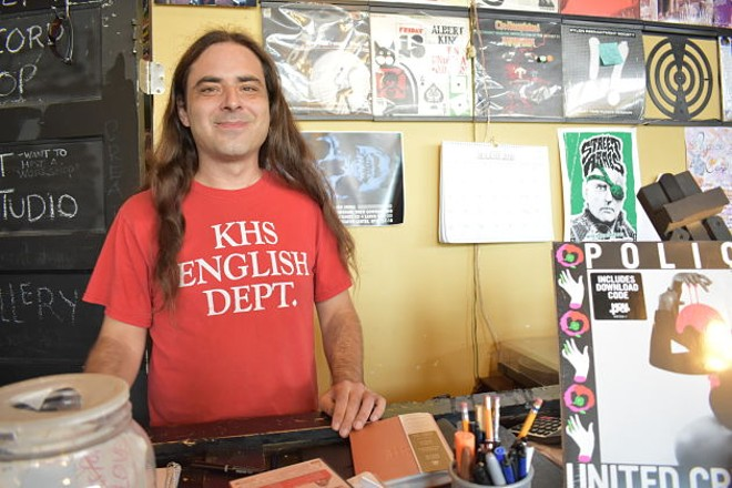 Kismet co-owner Tom Maher will continue to man the shop until he hands over the keys on September 30. - DANIEL HILL