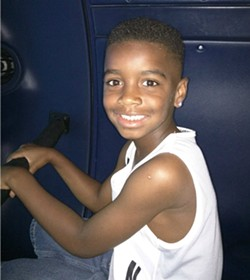 Edward Harris Jr. died on Wednesday, three days after he was pulled from a pool. - COURTESY ST. LOUIS FIRE DEPARTMENT