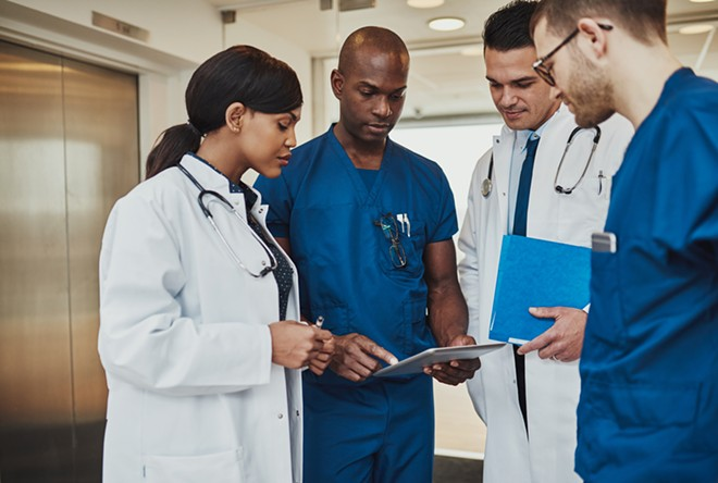 Physicians and orthodontists lead the nation in wages. - SHUTTERSTOCK/FLAMINGO IMAGES