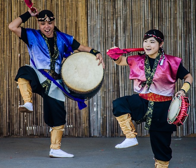 Missouri Botanical Garden's Japanese Festival returns with old favorites and new surprises. - LISA DELORENZO/MISSOURI BOTANICAL GARDEN