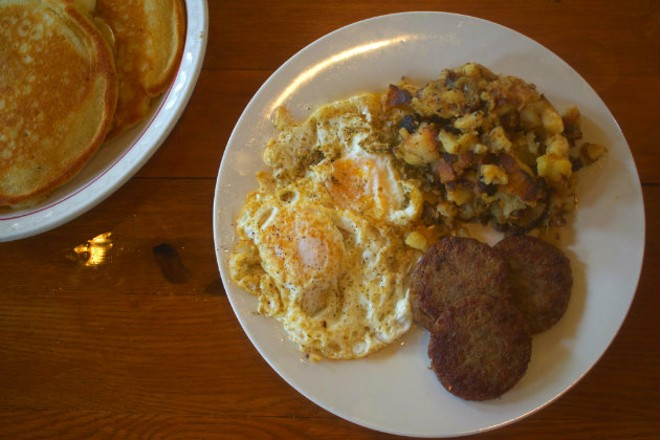The River Lillie specializes in daytime fare, including classic breakfast dishes. - CHERYL BAEHR