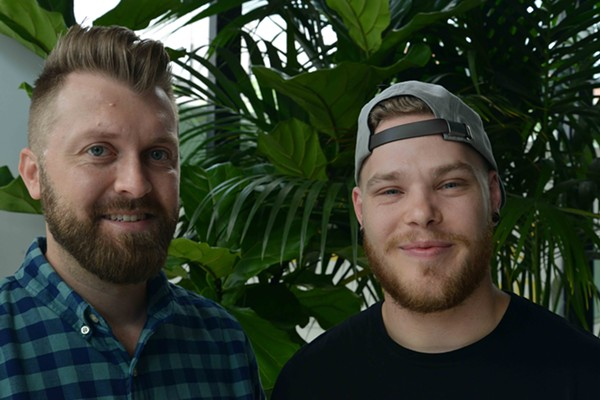 Yellowbelly creators Travis Howard and Tim Wiggins also own and operate Retreat Gastropub. - TOM HELLAUER