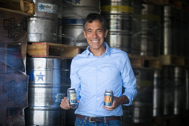 Working with O'Fallon Brewery, Jeff Stevens' WellBeing developed a way to brew N/A beer that tastes like the real thing. - JEN WEST