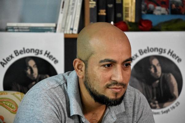 Alex Garcia took sanctuary from ICE one year ago. - DOYLE MURPHY