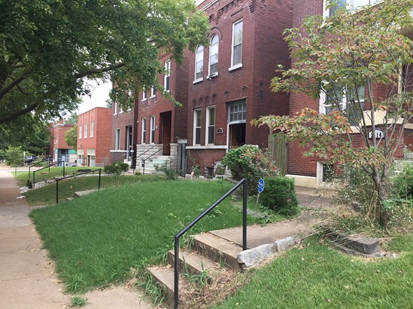 A block on Ann Avenue could see artificial turf if the city's Historic Preservation Board approves. - SARAH FENSKE