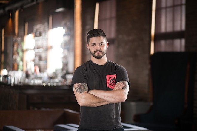 "George Fiorini wants to shake things up at Element. ""I finally feel like I have an opportunity to make my mark on St. Louis."" - JEN WEST"