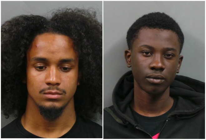 Matthew Quiles, left, and Derrick Hudson were busted for trying to steal cars in St. Peters, police say. - COURTESY ST. PETERS POLICE
