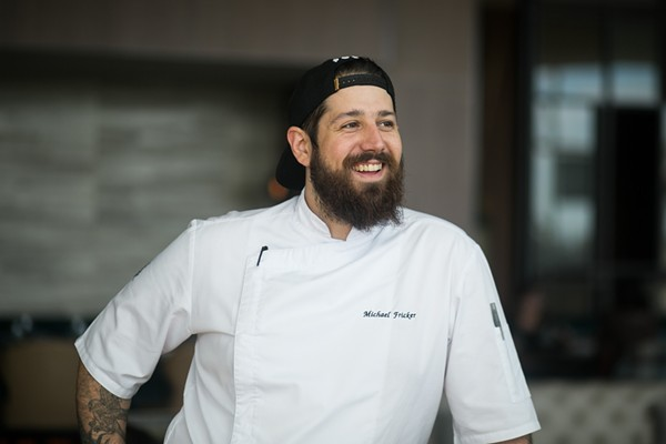 Michael Fricker embraces the Midwest's bounty at Cinder House. - JEN WEST