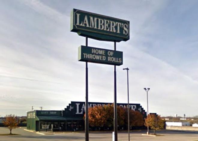 Benjamin Lambert previously ran the Lambert's Cafe in Ozark, Missouri. - GOOGLE STREET VIEW