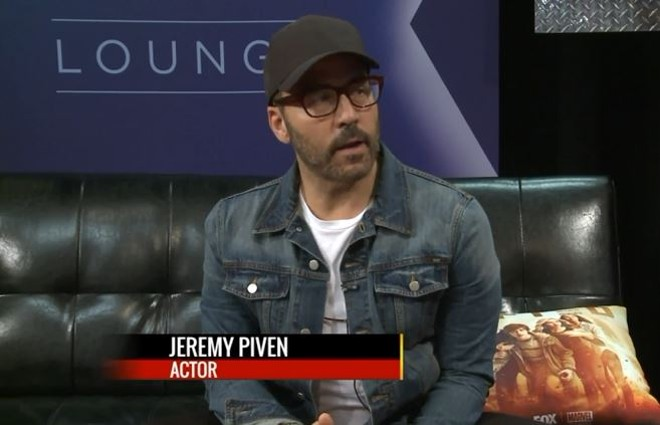 Jeremy Piven appeared on Fox2 this morning. No mention multiple sexual misconduct allegations though. - SCREENSHOT VIA FOX2