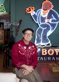 Bill Christman, founder of Joe's Cafe - PHOTO BY JENNIFER SILVERBERG