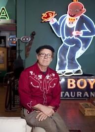 Bill Christman, founder of Joe's Cafe - PHOTO BY JENNIFER SILVERBERG