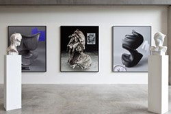 Installation view, The end of the end of the end. - DAVID JOHNSON