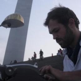 Henry Goldkamp, a STL street poet - IMAGE VIA
