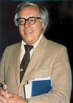 Ray Bradbury in 1975 - PHOTO BY ALAN LIGHT