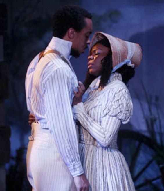 Will Cobbs as Frank and Raina Houston as Clarissa. - JERRY NAUNHEIM JR.