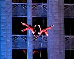 Bandaloop from its 2007 performance in St. Louis. - YOUTUBE