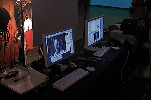 The project was assembled on two computers - PHOTO BY: BILL STREETER