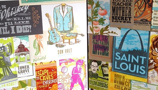 Some of Firecracker's posters over the years.