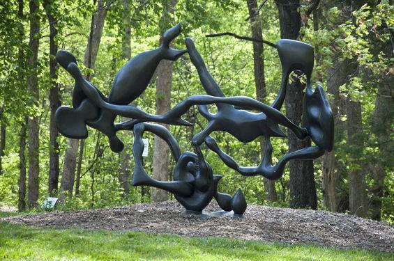 Laumeier Sculpture Park, the world's third most amazing sculpture garden. - PHOTOS BY MICAH USHER