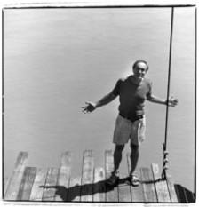 Bob at Cementland in 2000. - PHOTO BY JENNIFER SILVERBERG