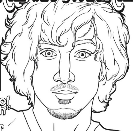 Dzhokhar Tsarnaev. - REALLY BIG COLORING BOOKS