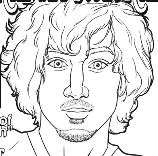 Dzhokhar Tsarnaev. - REALLY BIG COLORING BOOKS