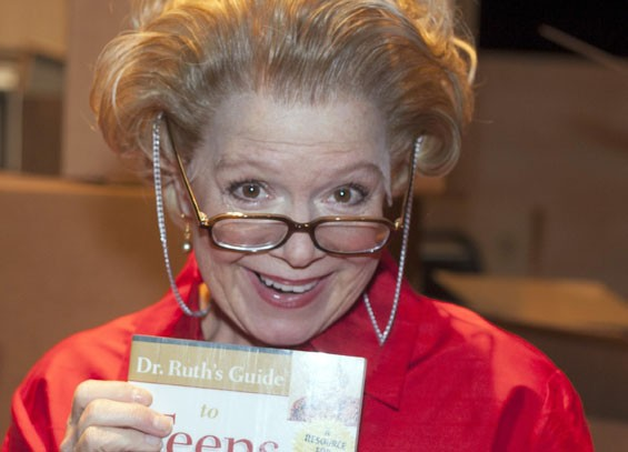 Dr. Ruth is in session at New Jewish Theatre. - JOHN LAMB