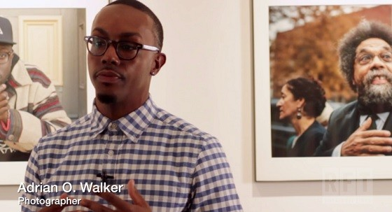 Adrian O. Walker discusses his portraits of Dick Gregory, Moruf, Cornel West and Iman Omari.