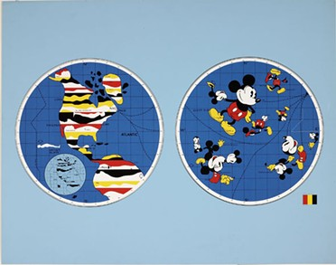 Mickey Mouse World, 1968 - WWW.FRIEDLANDART.COM