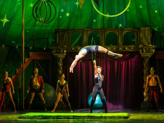 The cast of Pippin. - TERRY SHAPIRO