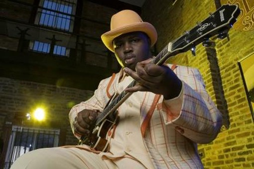 Marquise Knox plays Saturday night at BB's Jazz, Blues and Soups on Broadway downtown.