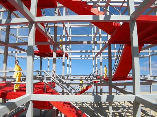 Stair-Scape Cube - MICHAEL JANTZEN